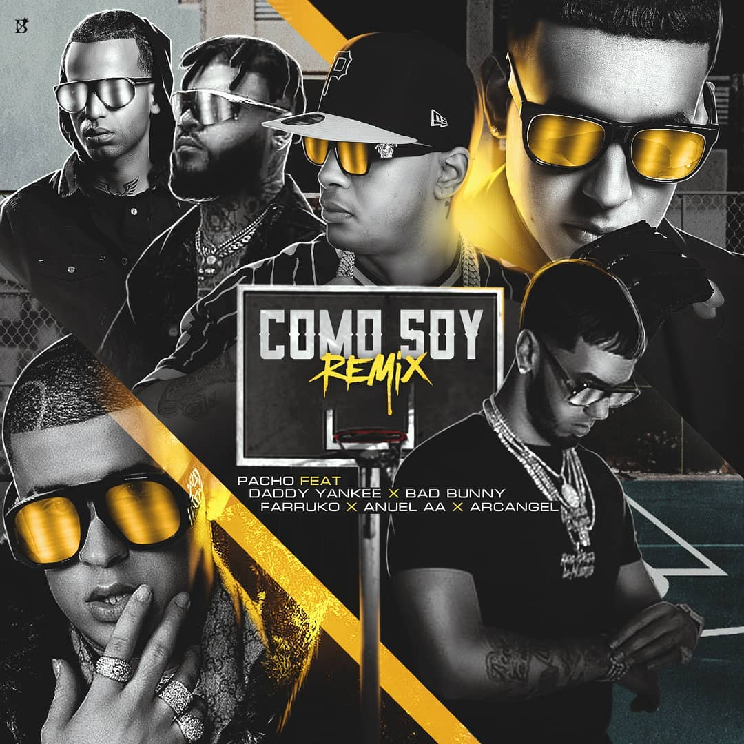Bad Bunny ft Anuel X Pacho X Como Soy Remix.mp3