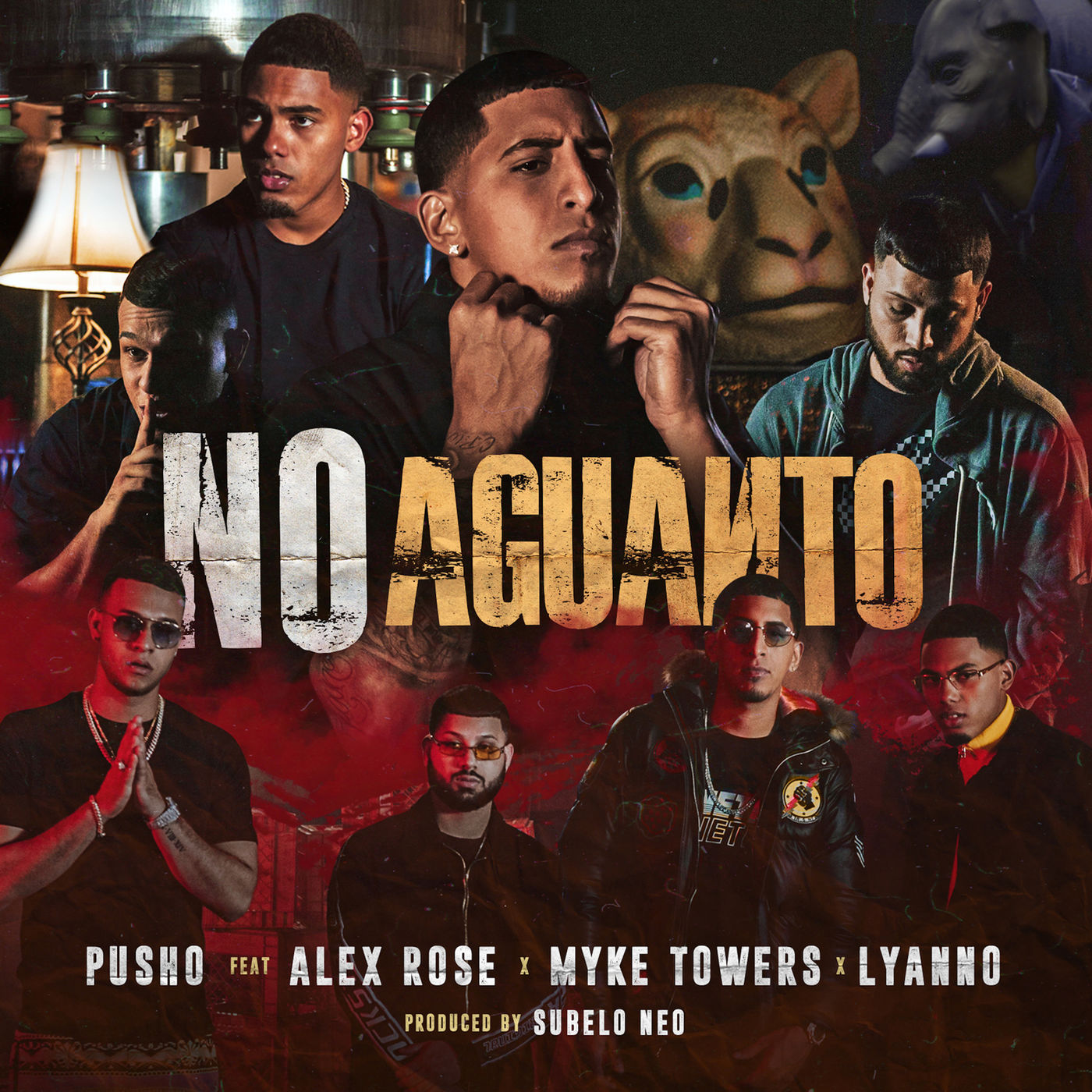 Pusho FT Myke Towers X Alex Rose Y Lyanno - No Aguanto.mp3