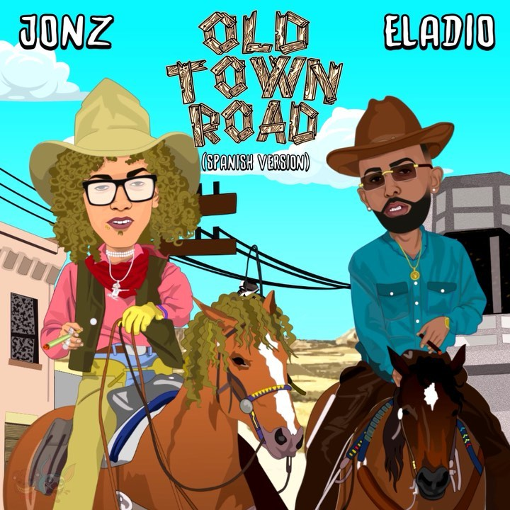 Jon Z x Eladio - Old Town Road (Spanish Remix).mp3