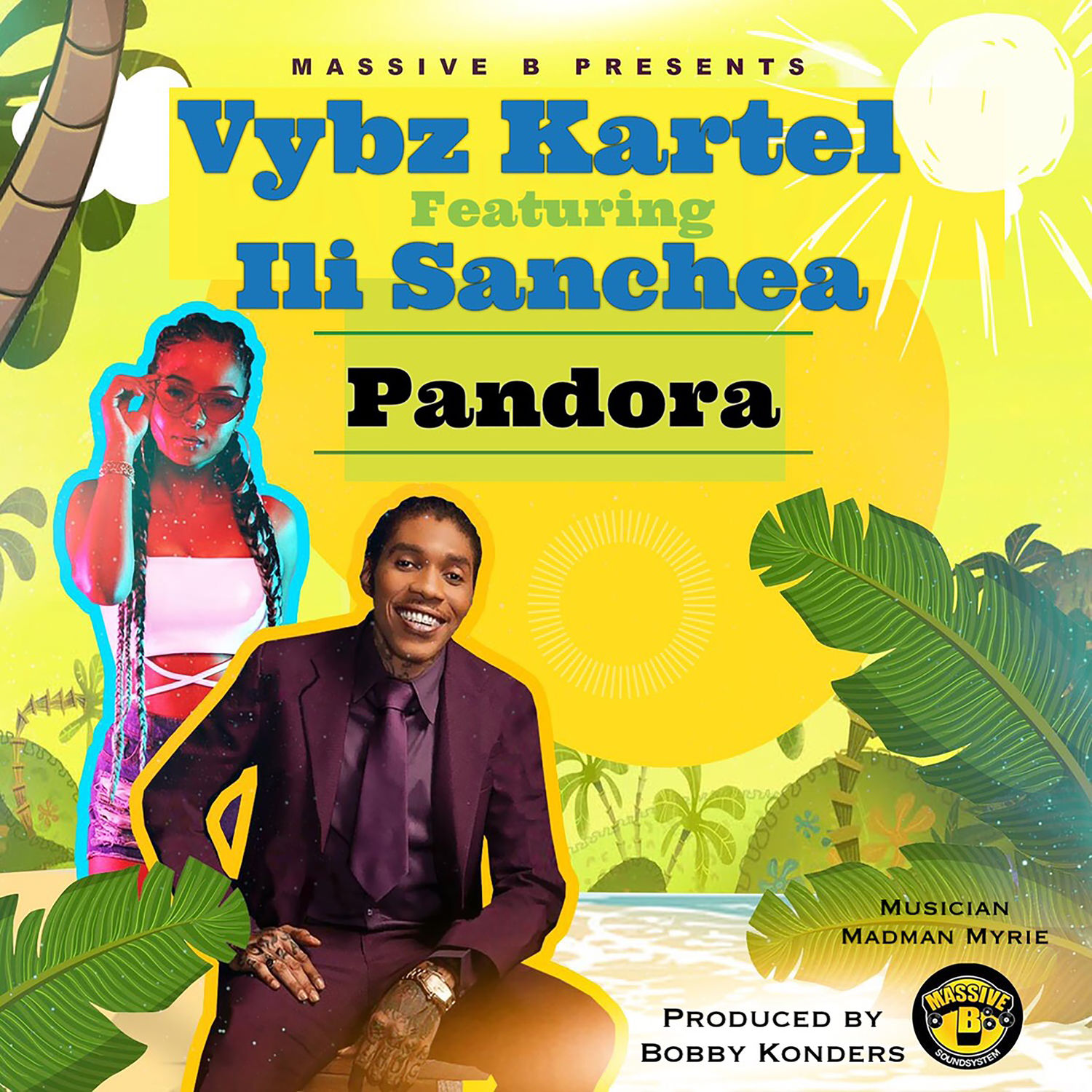 Vybz Kartel  ft Ili Sanchea - Pandora.mp3