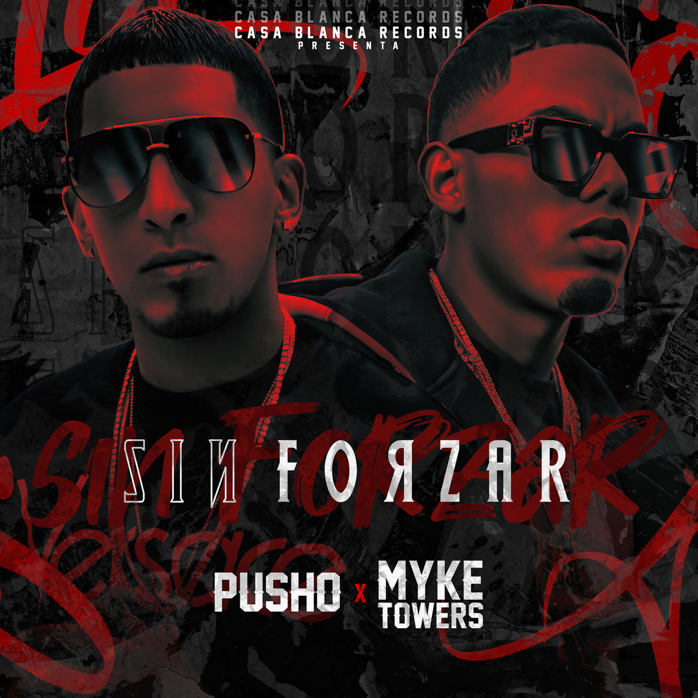 Pusho FT Myke Towers - Sin Forzar.mp3